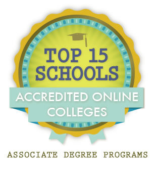 Accredited Online Colleges >> Top 15 Accredited Schools Offering Online Associate Degrees