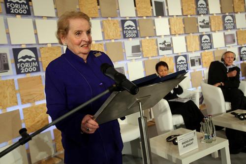 22. Madeleine K. Albright