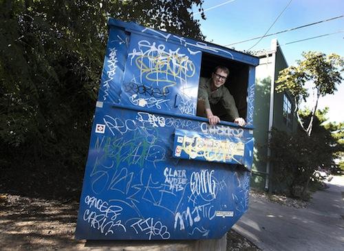 4. Professor Jeff Wilson's Dumpster Project