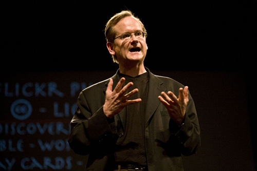 6. Lawrence Lessig