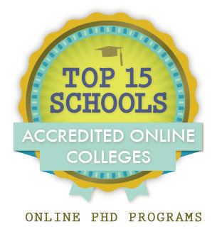 accredited online phd