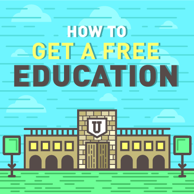 thumb how to get a free education