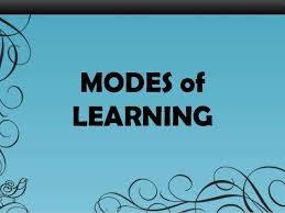 modesoflearning